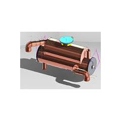 12 HP Isuzu Heat Exchanger
