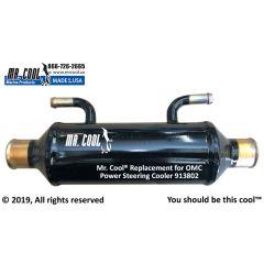 913802 OMC Power Steering Cooler
