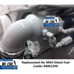 940612PD MAN Diesel Fuel Cooler