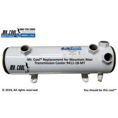 9411-18-MT Mountain Man Transmission Cooler