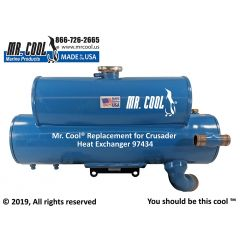 97434 Crusader Heat Exchanger
