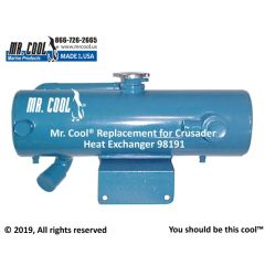 98191 Crusader Heat Exchanger