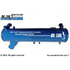 98510 Crusader Heat Exchanger