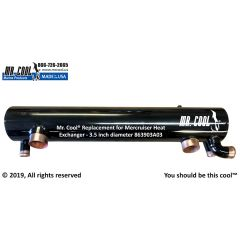 863903A03 Mercruiser Heat Exchanger