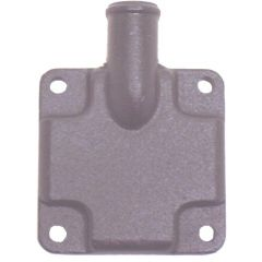 60252 Mercruiser exhaust manifold end cap/connector