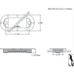 44200102430017 MTU Detroit Diesel Plate Cooler