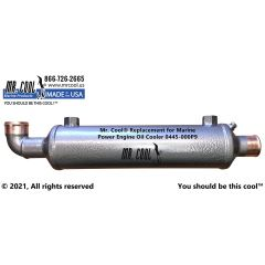 0445-000P9 Marine Power Engine Oil Cooler