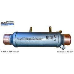 119773-55750 Fuel Cooler for Yanmar 6LPA-ST2P