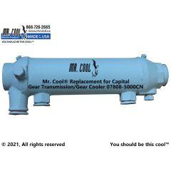 07808-5000CN Capital Gear Transmission/Gear Cooler