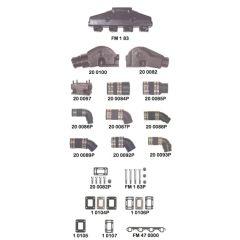 Interceptor V8 221, 260, 289, 302, 351