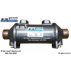 JT1082 Johnson & Towers Transmission / Gear Cooler