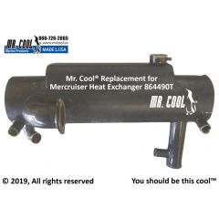 864490T Mercruiser Heat Exchanger