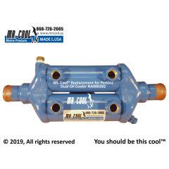 NA000282 Perkins Dual Oil Cooler