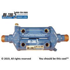 NA000282CN Perkins Dual Oil Cooler