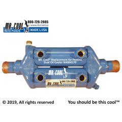 NA004179 Perkins Dual Oil Cooler