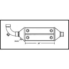 NA004619 Perkins Dual Oil Cooler