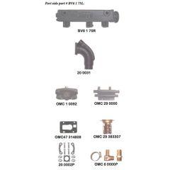OMC V6 155 HP - Log Style Generic