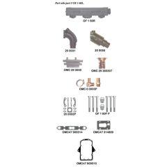OMC V8 283, 305, 307, 350 - Models 210, 215, 225, 235, 245 - Log Style Generic