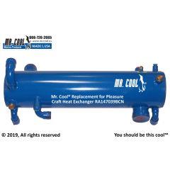 RA147039BCN Pleasure Craft Heat Exchanger