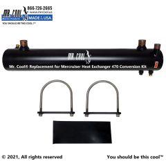 470 Conversion Kit Mercruiser Heat Exchanger