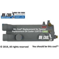 119775-33000 Yanmar Replacement Oil Cooler